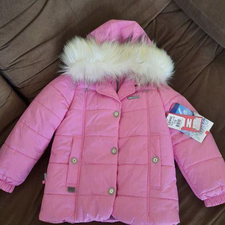 Новая! Зимняя яркая теплющая красивая куртка парка Lenne 110