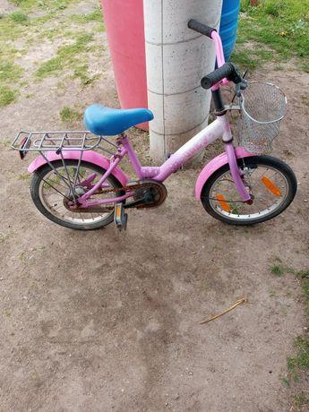 Rowerek dziewczecy 16 cal