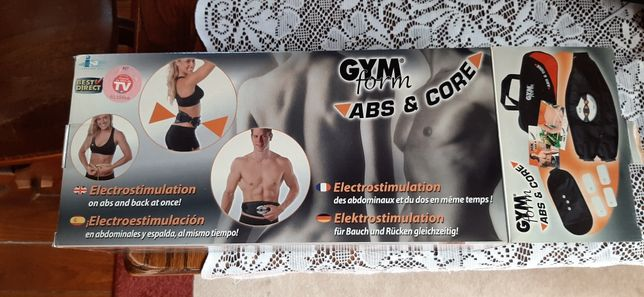 Cinto abs gym form/massagens