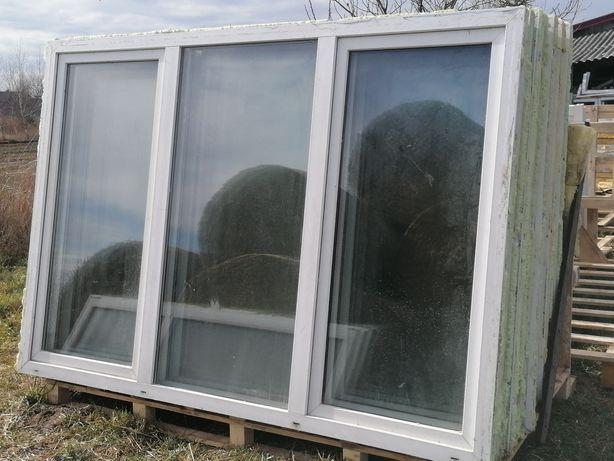 Okno pcv 232 x 161 pcv okna używane na szklarnie