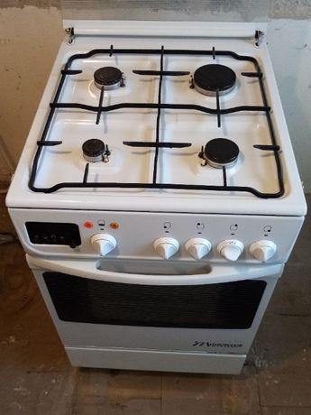 Kuchenka gazowa z piekarnikiem elektrycznym Mastercook Wrozamet