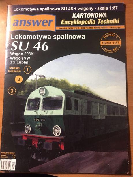 PKP Model kartonowy SU 46 Answer
