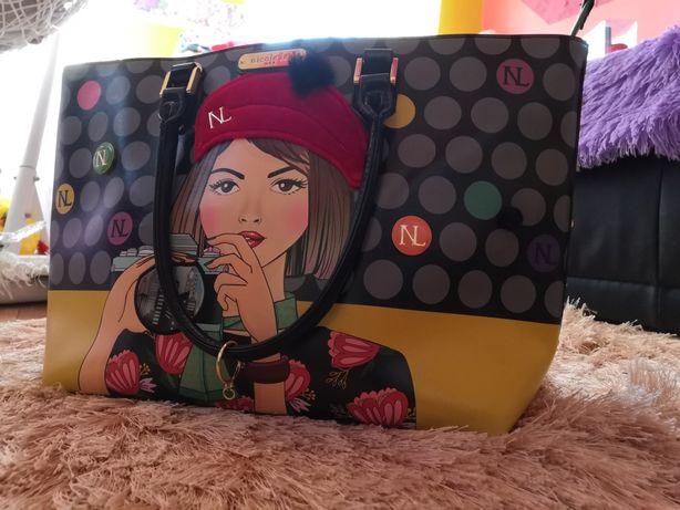 Torebka Nicole Lee + pasek + torba