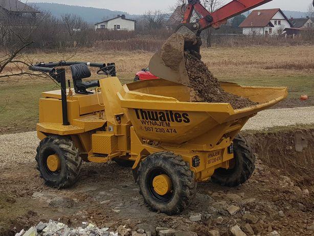 Usługi wynajem wozidło budowlane obrotowe 5 ton