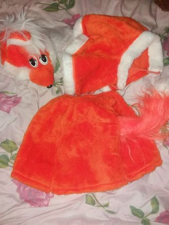 Продам новогодний детский костюм лисички