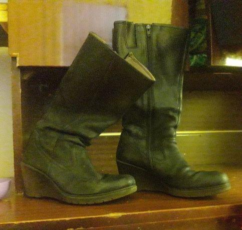 чоботи жіночі демі взуття сапожки женские