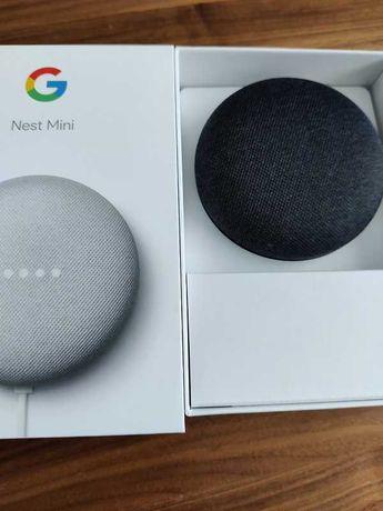 Assistente Virtual GOOGLE Home Mini (Google Assistant em Carbono)