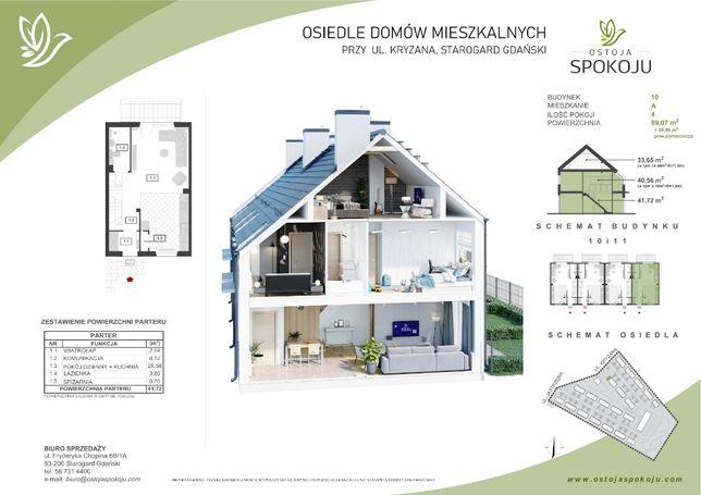 Nowe domy w cenie mieszkania M3