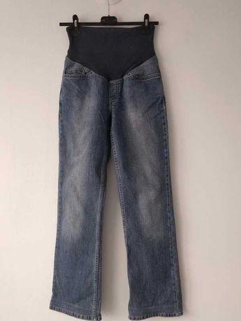 Spodnie ciążowe, jeansowe