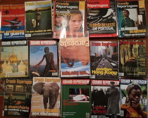 Revistas Grande Reportagem, em muito bom estado, praticamente novas