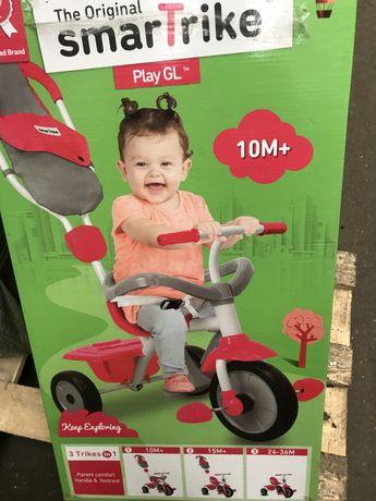 Smart trike велосипед дитячий новий детский 3 в 1 прогулочний