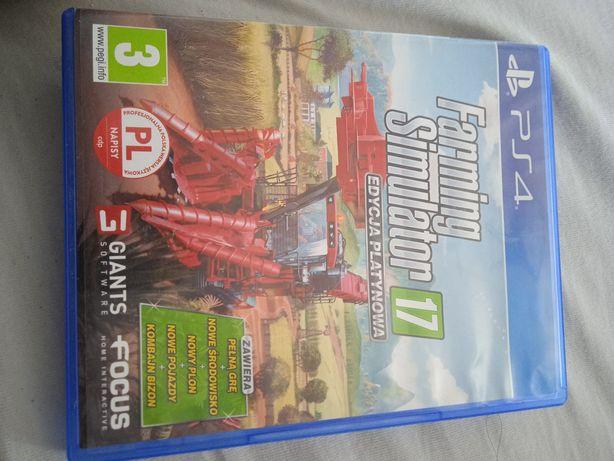 Farming Simulator ps 4 edycja platynowa