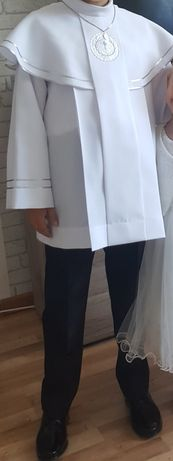 Alba chłopięca Komunijna plus spodnie r. 128