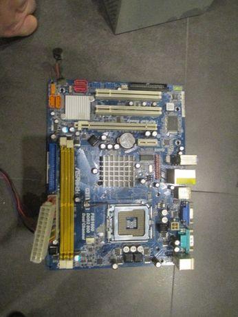 Płyta ASRock G31M-GS + procesor E4400 + wentylator