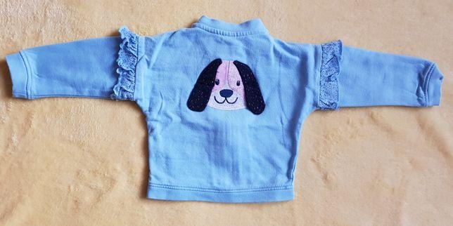 Bluza dresowa rozpinana 5-10-15 rozmiar 62