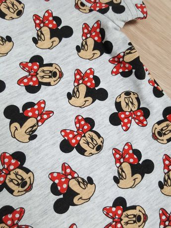 Sukienki tuniki dla sióstr, Minnie Mouse, Myszka Minnie, rozmiary
