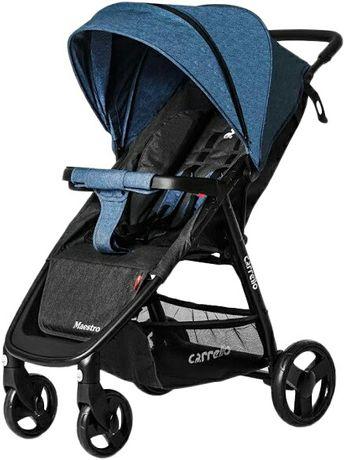 Продам коляску Carrello Maestro Water Blue лен