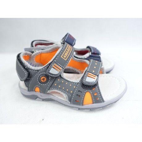 Nowe sandały chłopięce, skórzana profilowana wkładka 25,28,29,30