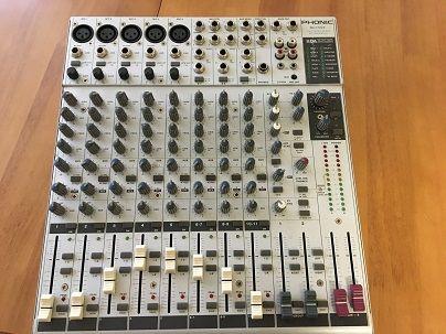 Продаётся микшерный пульт Phonic MU 1722X