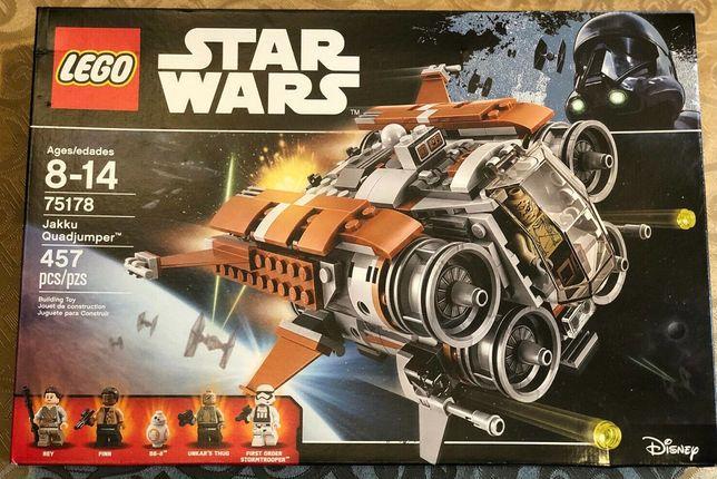 Set Lego Star Wars 75178 Jakku Quadjumper Selado