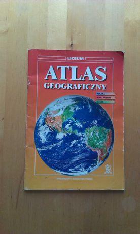 Atlas geograficzny. Liceum.