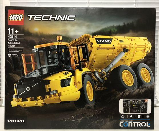 LEGO Technic самосвал 6x6 Volvo 42114