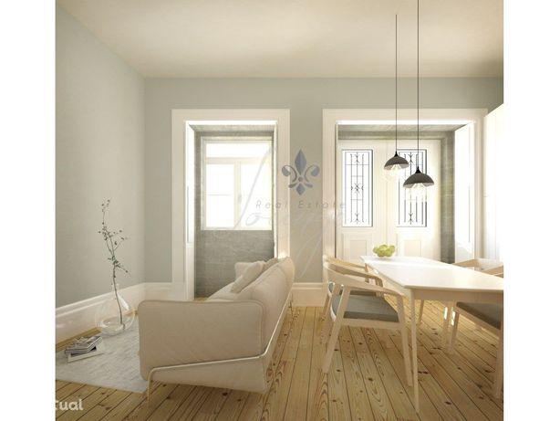 Vende-se Apartamento T1 – 1.º Direito Traseiras (F) – Cai...