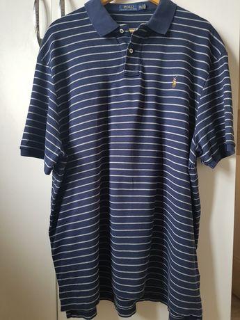 Granatowa koszulka polo Ralph Lauren