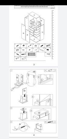 Wykonam instrukcje montażu mebli twardych i miekkich