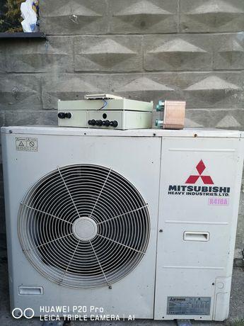 Pompa ciepła powietrze woda Mitsubishi heavy 16kW