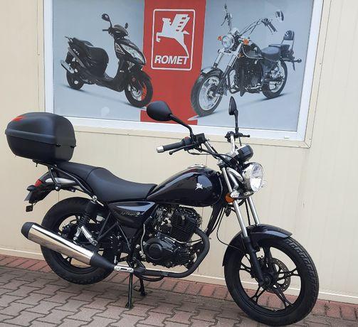 Motocykl Romet Soft chopper 125