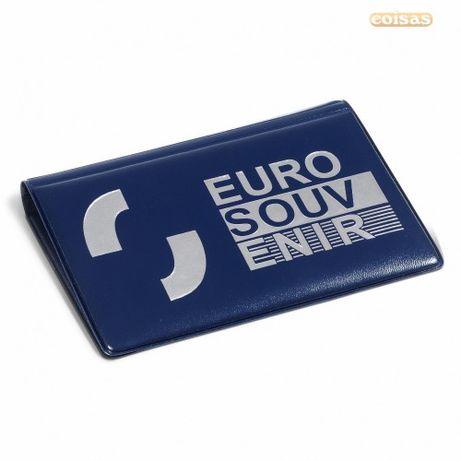 Album Bolso p/ Notas Euro Souvenir Zero 0 Euros (40 notas)