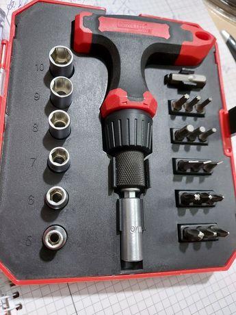 Набор битов с трещеткой 23 шт.POWERFIX HG 05122 Германия