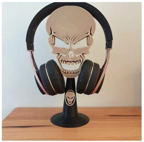 suporte de headphones - caveira - Skull stand