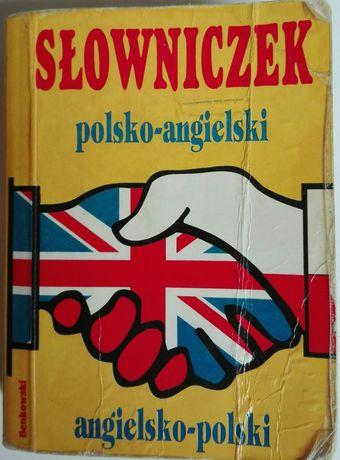 Słowniczek polsko angielski, angielsko polski