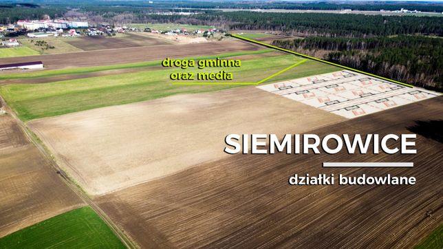 Sprzedam działkę budowlana Sierakowice (Siemirowice na raty bez bankow