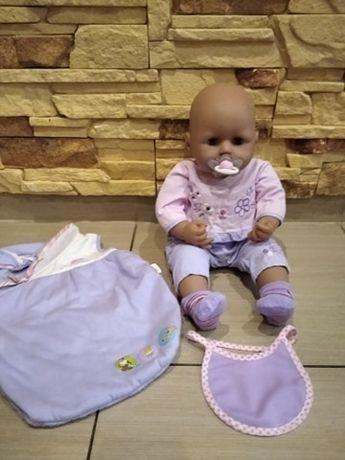lalka baby annabell + śpiworek