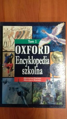 Encyklopedia szkolna Oxford tom 1