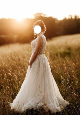 Suknia ślubna, rozm. 36