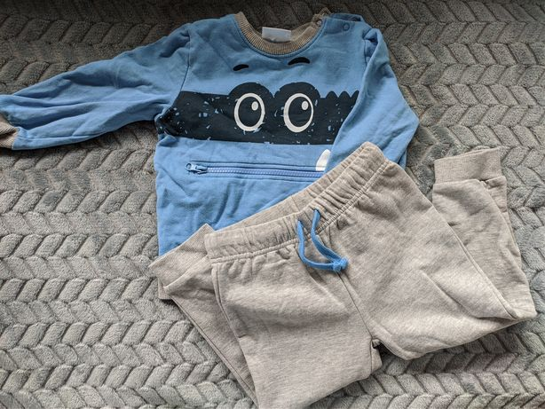 Dres komplet bluza spodnie chłopięce 92/98