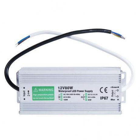 Waterproof LED Power Supply IP67 12v 80W