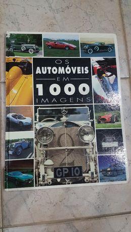 """Livro de colecção - """"Os automóveis em 1000 imagens"""""""