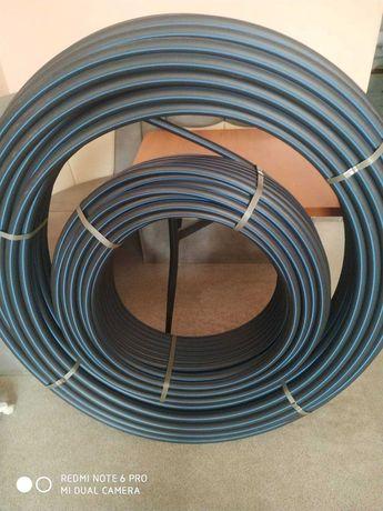 Трубы полиэтиленовые ПЕ100 и ПЕ80 с завода. Сертифицированы