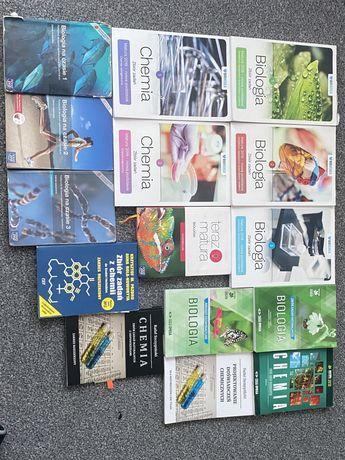 Książki maturalne biologia chemia