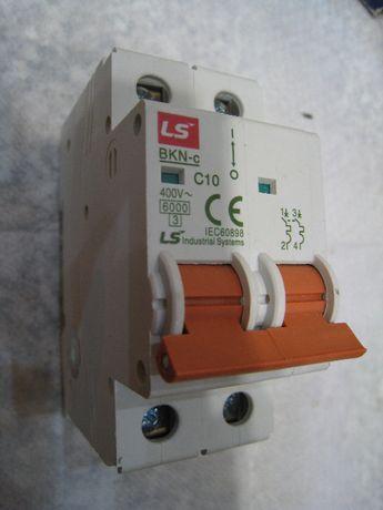 Выключатели автоматические 2-х полюсные LS серии BKN-c C10 A