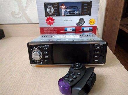 Автомагнитола 4011/4012B/4016/4012 / Экран 4.1 /AUX/FM