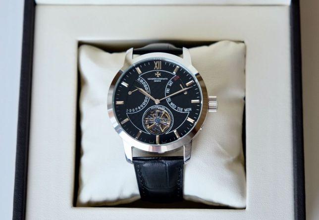 Vacheron Constantin silver мужские механические наручные часы