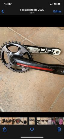 S works, sram red X01