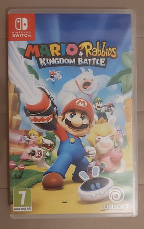 Gra Mario + Rabbids na nintendo switch