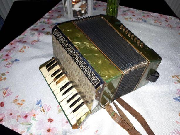 Zabytkowy Akordeon Harmonia HOHNER IMPERIAL II 1939 rok